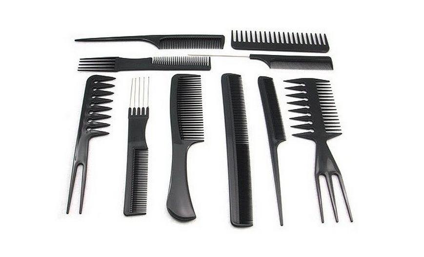 Цена с доставкой* Набор для парикмахера 12 предметов за 578 руб. на сайте совместных покупок Репка.